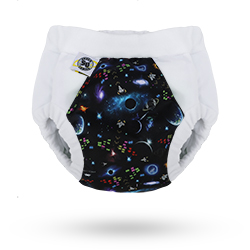 Hero Undies Space Oddity Bedwetting Diapers